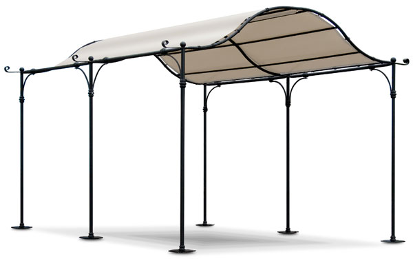 garten pavillon eisen pergola feuerverzinkt bern neu ebay. Black Bedroom Furniture Sets. Home Design Ideas