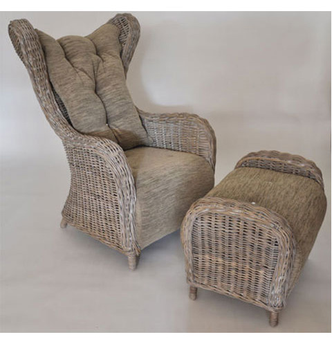 Sessel mit hocker ebay innovation d nemark denmark lounge for Ohrensessel drehbar