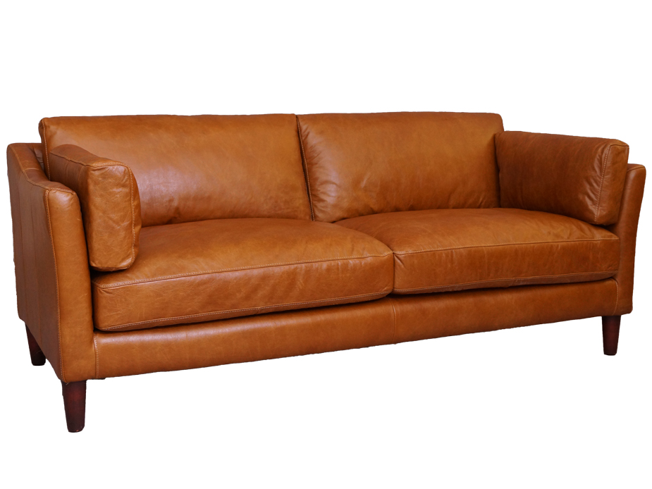 Sofa Leder Designer 3 Sitzer Carprola For