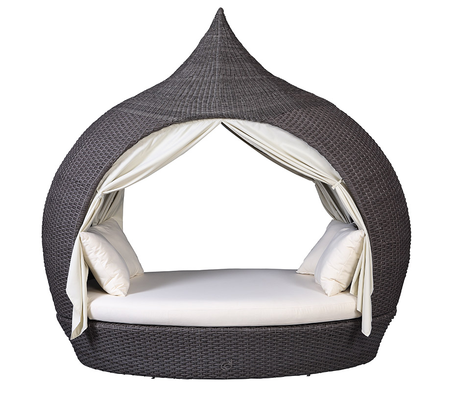 doppel eyecatcher liege sonneninsel domus ventures lounge garten polyrattan chai ebay. Black Bedroom Furniture Sets. Home Design Ideas