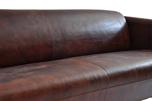 ledersofa rocket 4 sitzer vintage cigar leder sofa ledercouch clubsofa 4er neu ebay. Black Bedroom Furniture Sets. Home Design Ideas