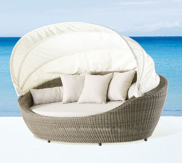 paradiso lounge lounger island lounger sunbed domus ventures garden wicker me ebay. Black Bedroom Furniture Sets. Home Design Ideas