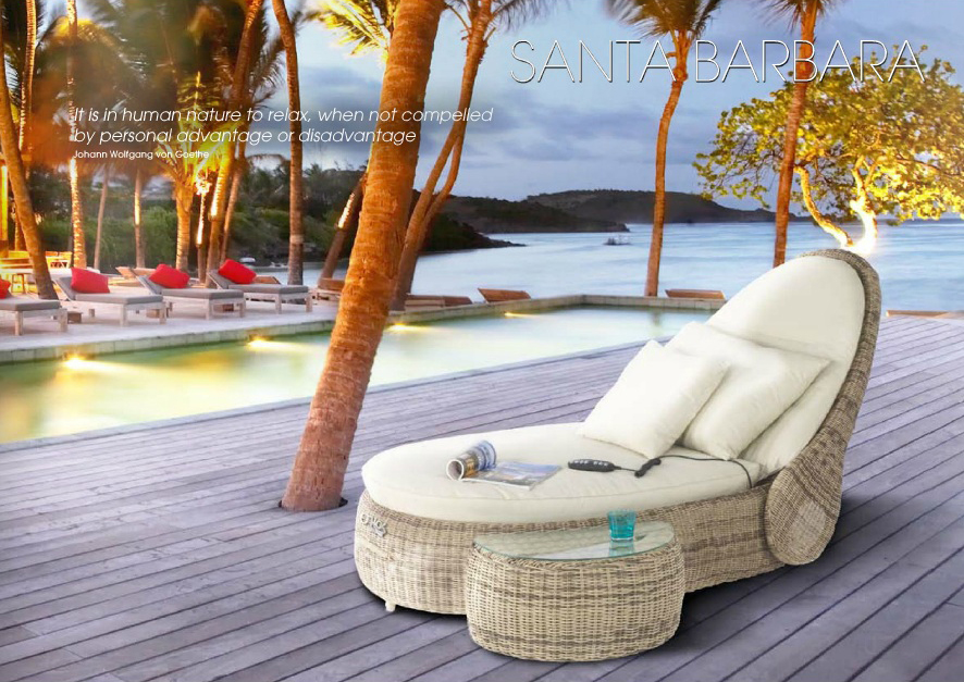 poly rattan liegeinsel santa barbara liege gartenm bel domus ventures lounge ebay. Black Bedroom Furniture Sets. Home Design Ideas